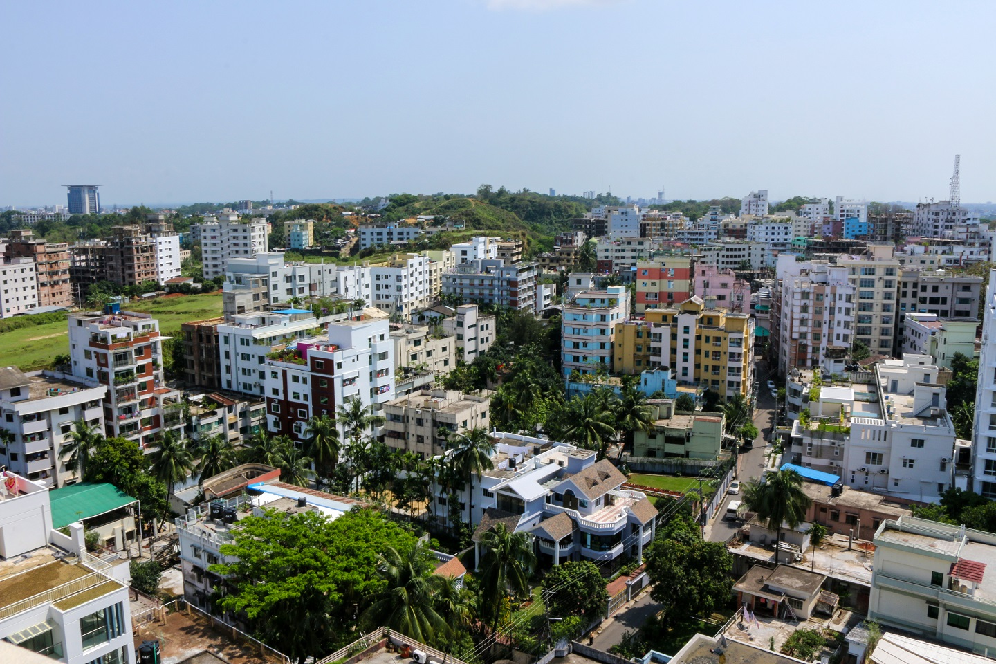 Price of apartments adjusts to market supply and demand