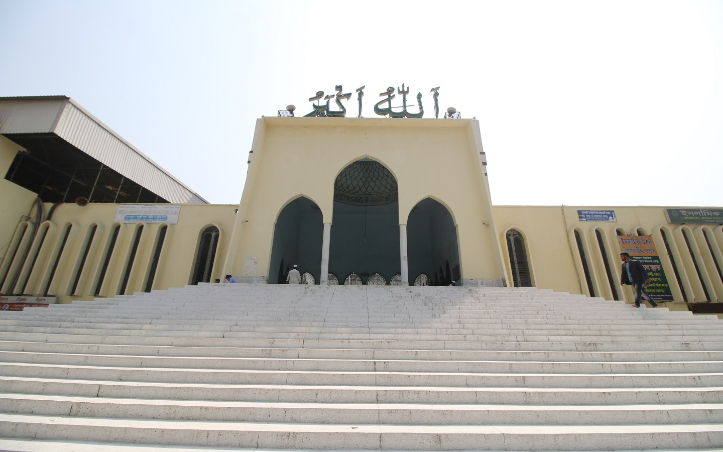 At any given hour, you will never find this mosque empty