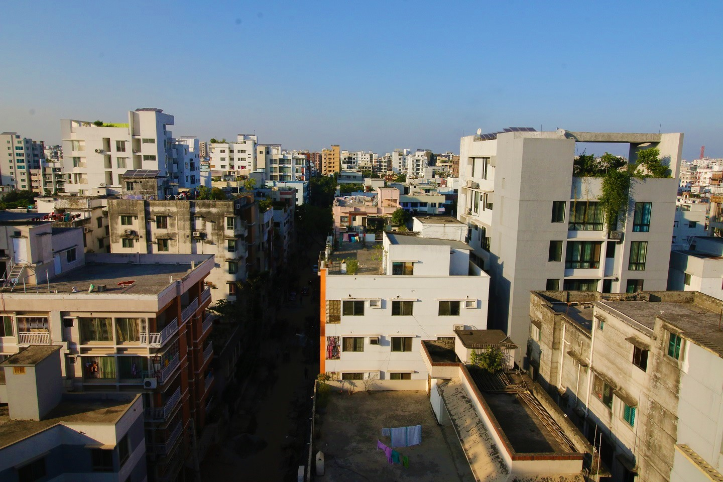 Apartment constructions in Bangladesh is on the rise due to high demand for accomodation