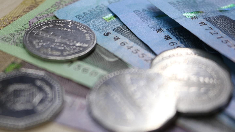 Bangladeshi Taka Notes and Coins