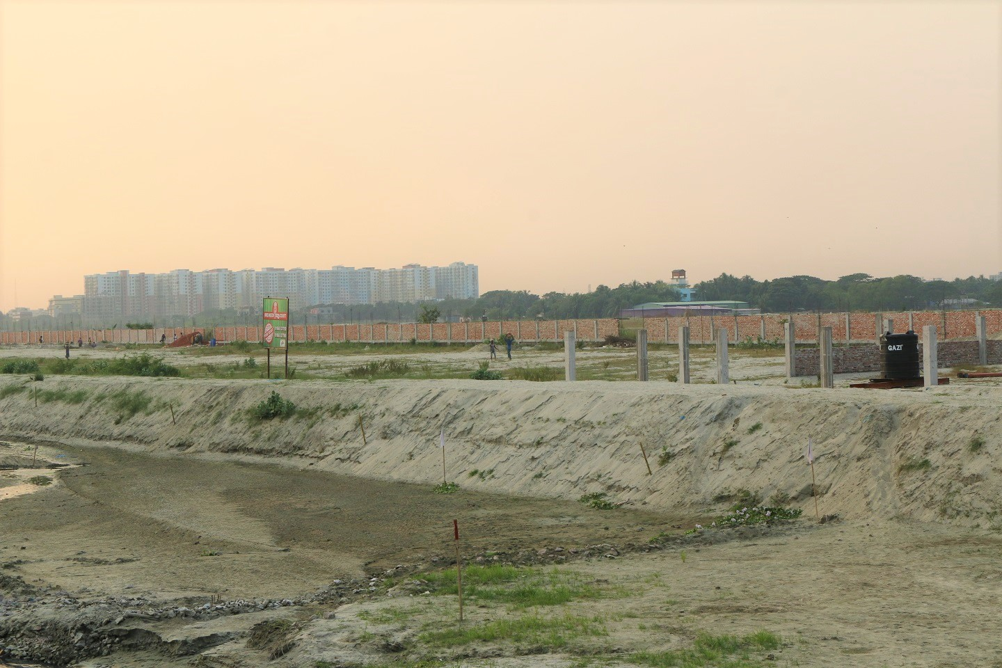 Dhaka is expanding towards the eastern side, where usable developers and utilize the under-developed lands