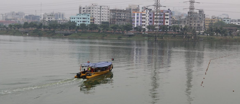 Hatirjheel Water Taxi   A Quick Way to Beat traffic in Dhaka