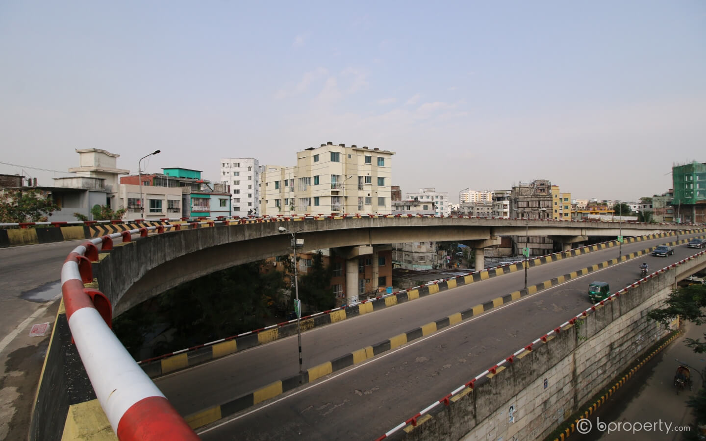 There seem to be no significant effects of flyovers on traffic condition of Dhaka city