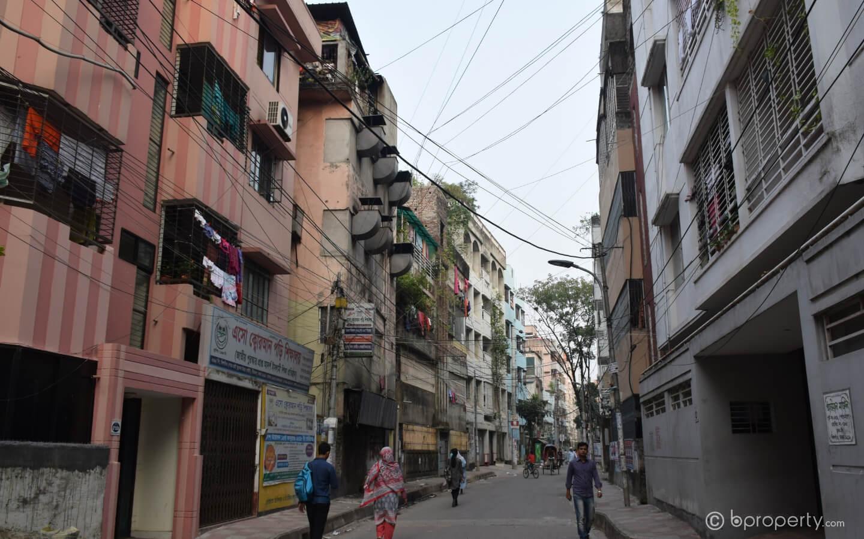 Life in Khilgaon is serene