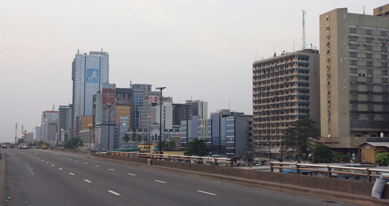 Lagos urban scene
