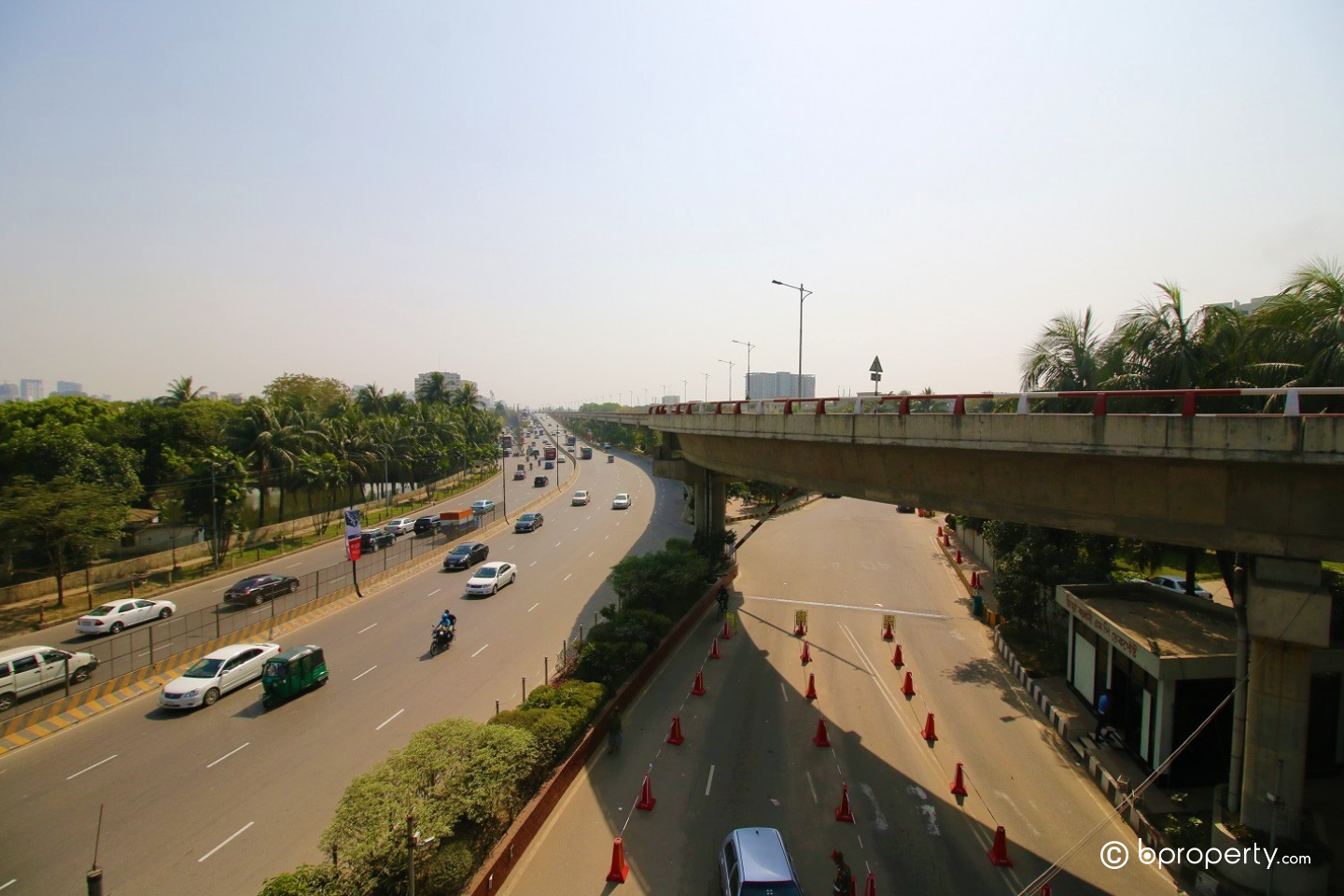 Living in Dhaka city, you must pick the efficient route for everyday commute