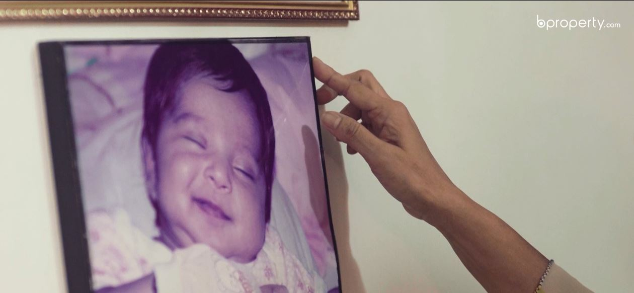 photo of nazma ameen children