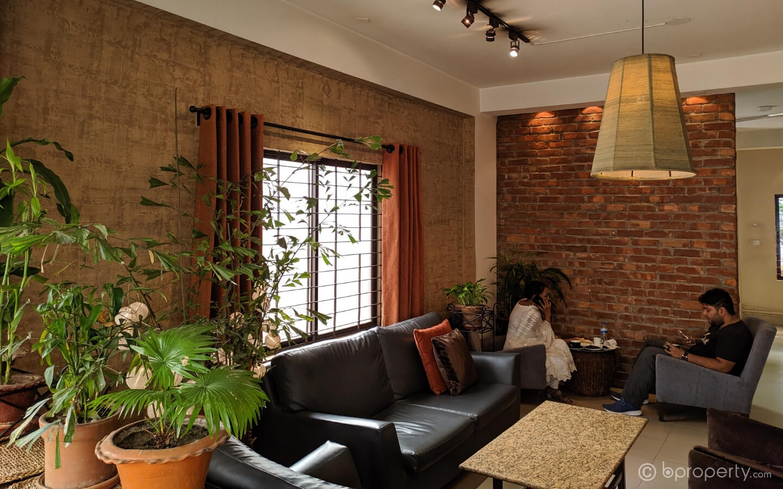 Interior of Northend at Pragati Sarani