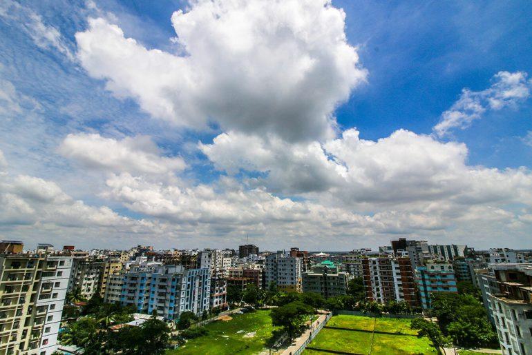 Bashundhara Residential Area Skyline