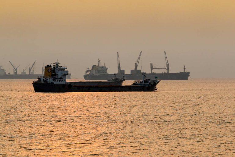 Serenic view of port city chittagong