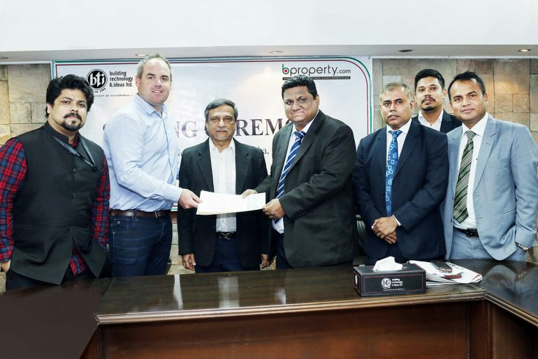 Bti and Bproperty Signing Ceremony