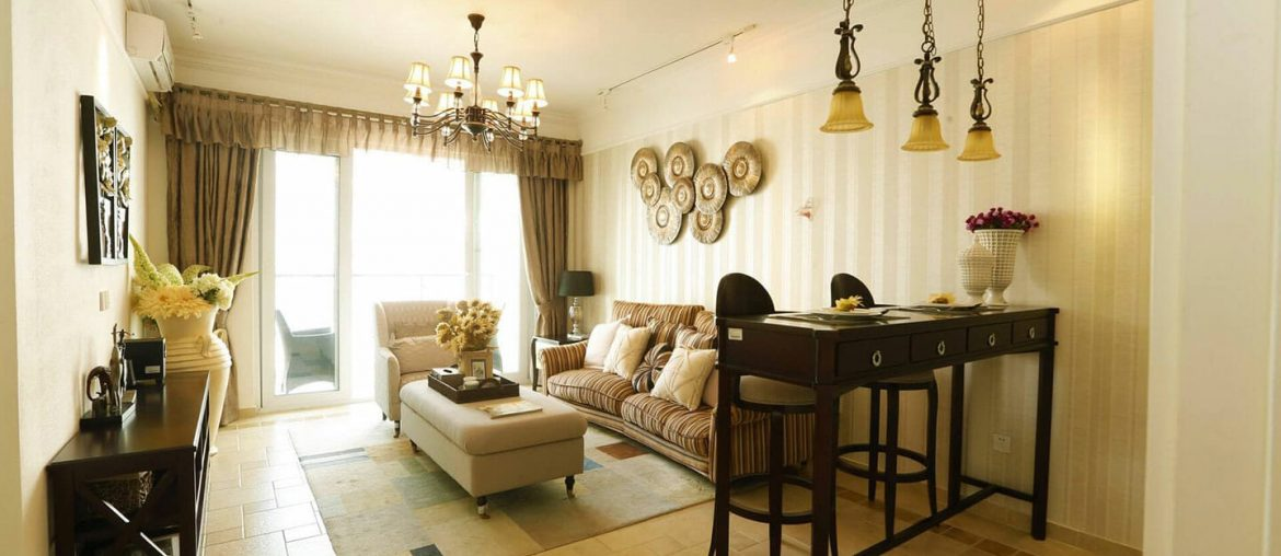 A nicely decorated luxurious home