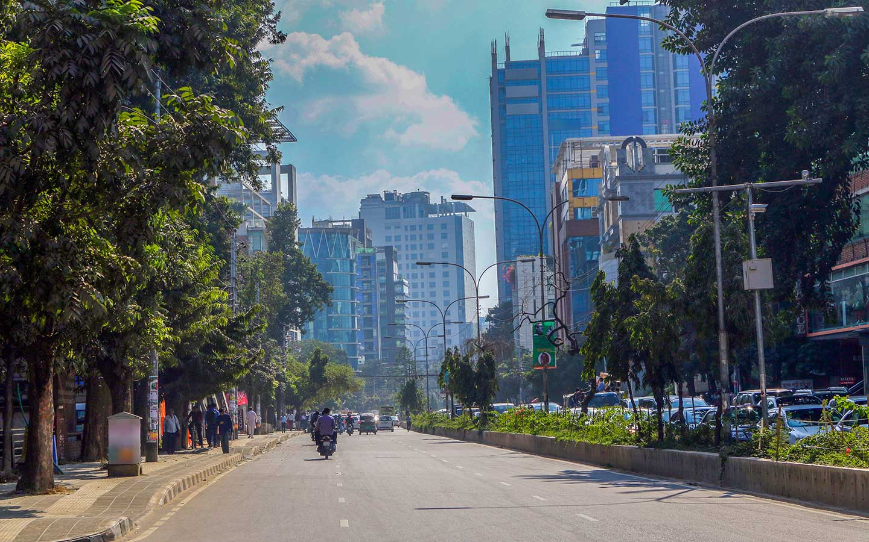 Street view from Gulshan 2