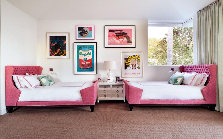 pop culture bedroom
