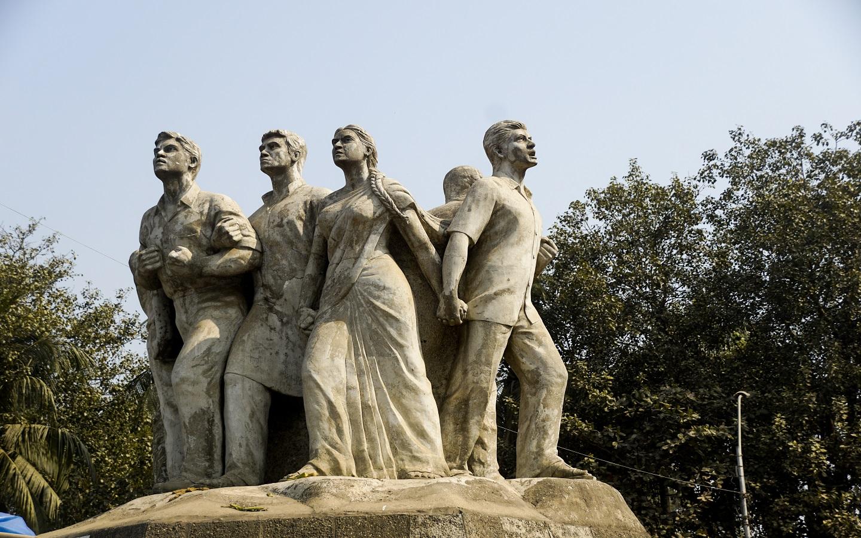 Raju Memorial Sculpture at TSC