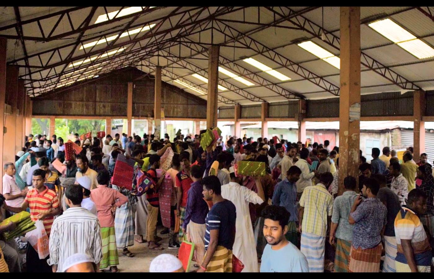 dhakai jamdani market