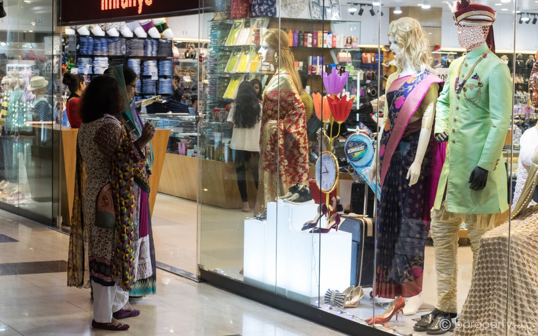 Shopping centers in Dhaka