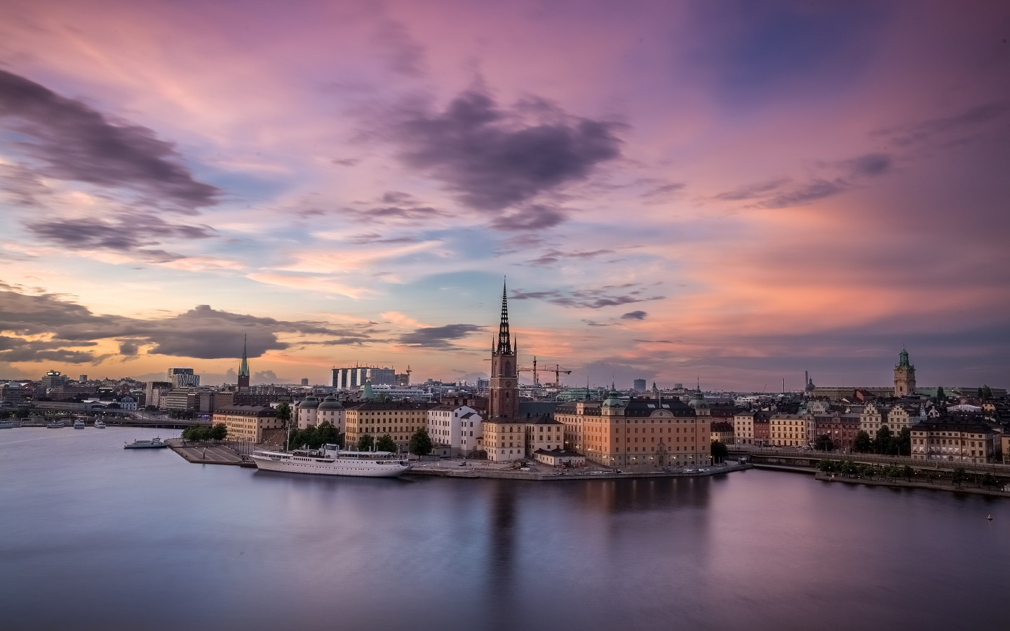 Beautiful city of Sweden