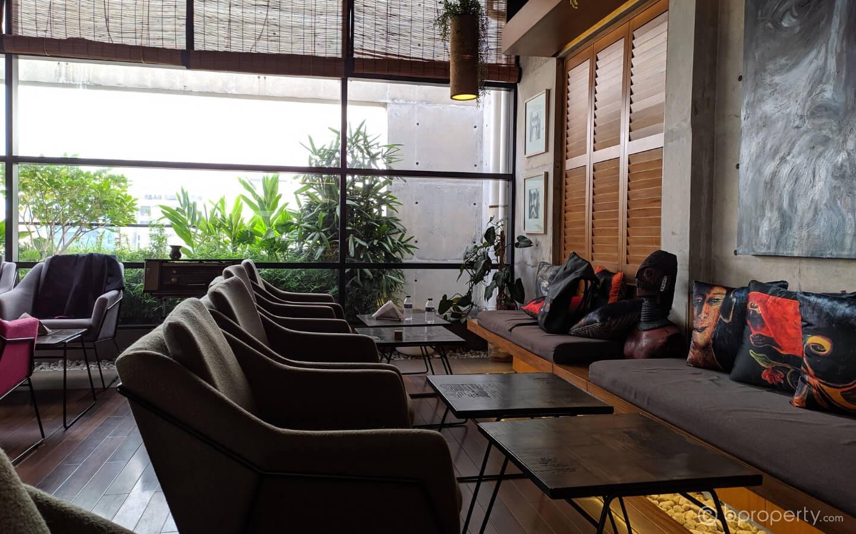 Interior of Tagore Terrace