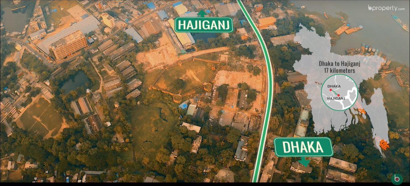 Dhaka to Hajiganj