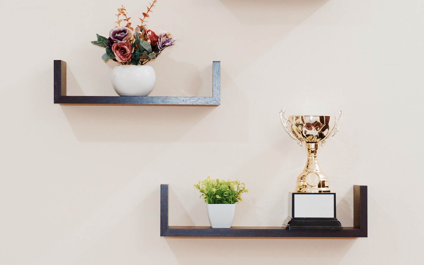 Trophy used in decorating office