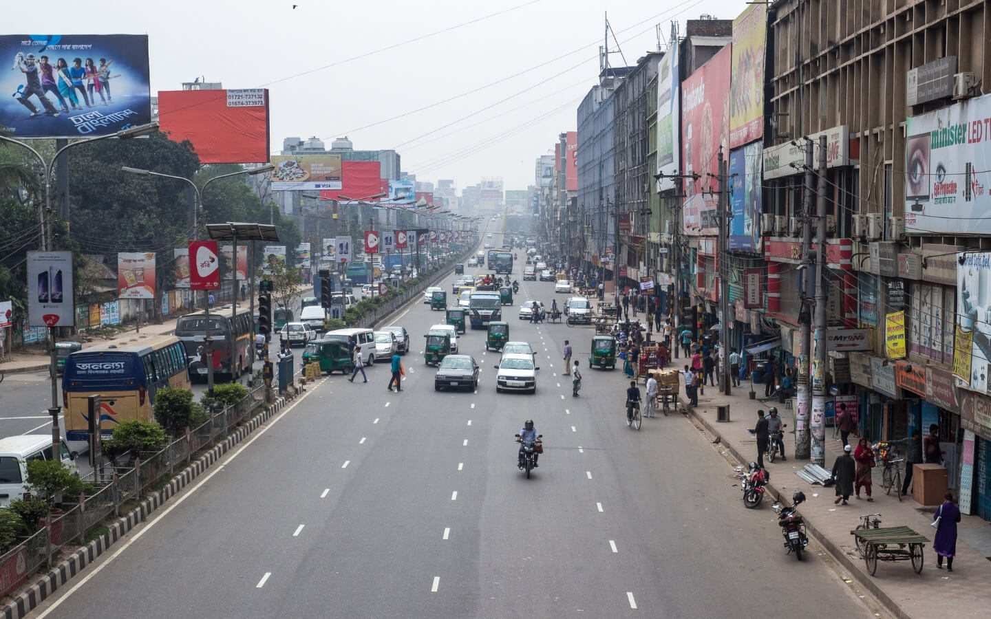 Mohakhali is one of the unlikely commercial areas in Dhaka