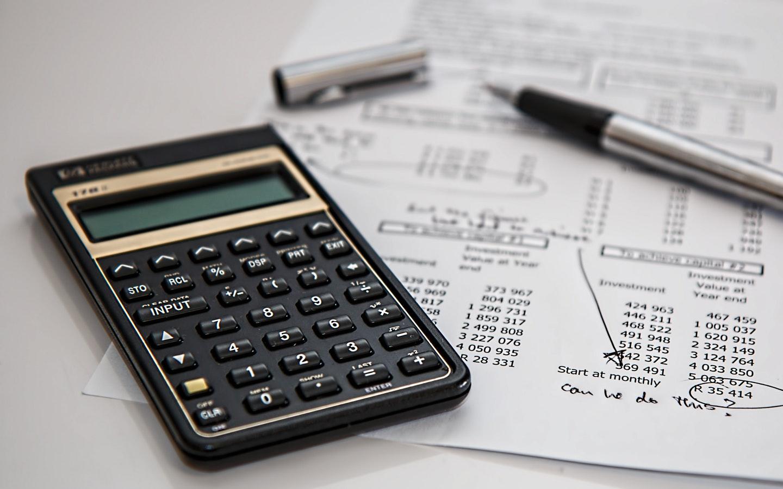 calculator and paper & pen
