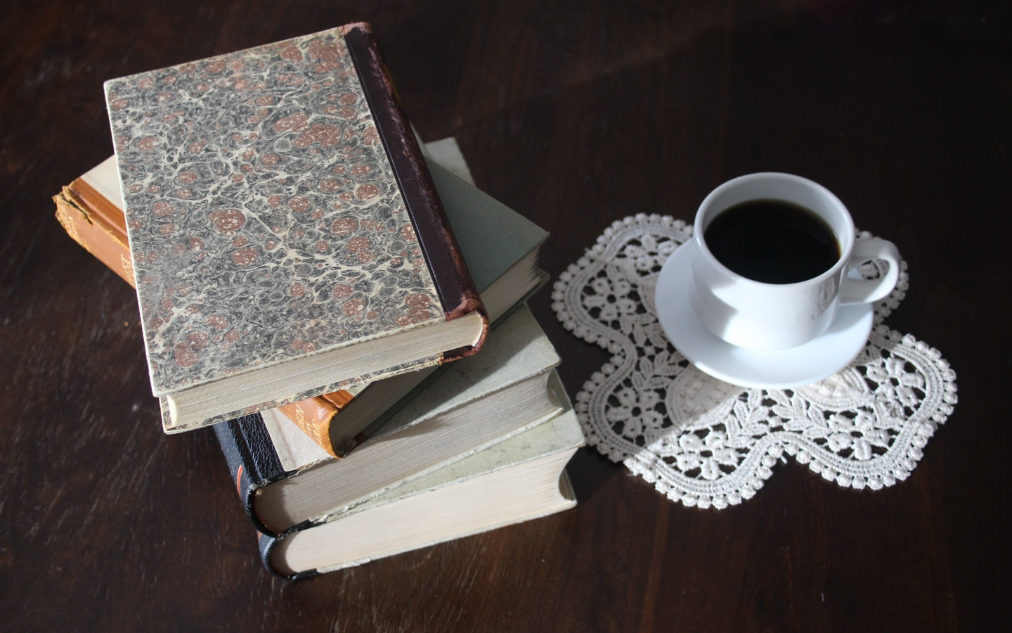 Book and Tea Cup