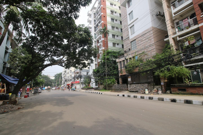 A road in Uttara