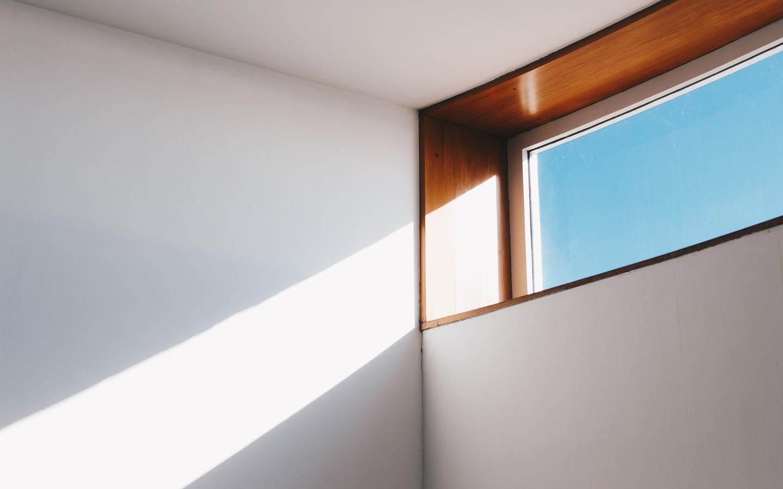 More natural light makes any small room look bigger