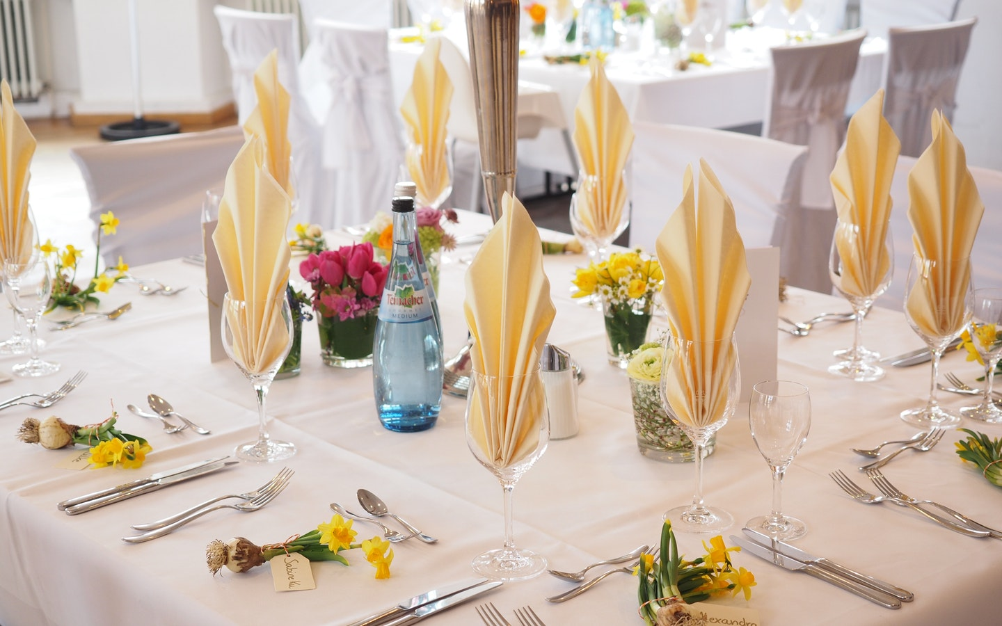 cutlery and dining tables