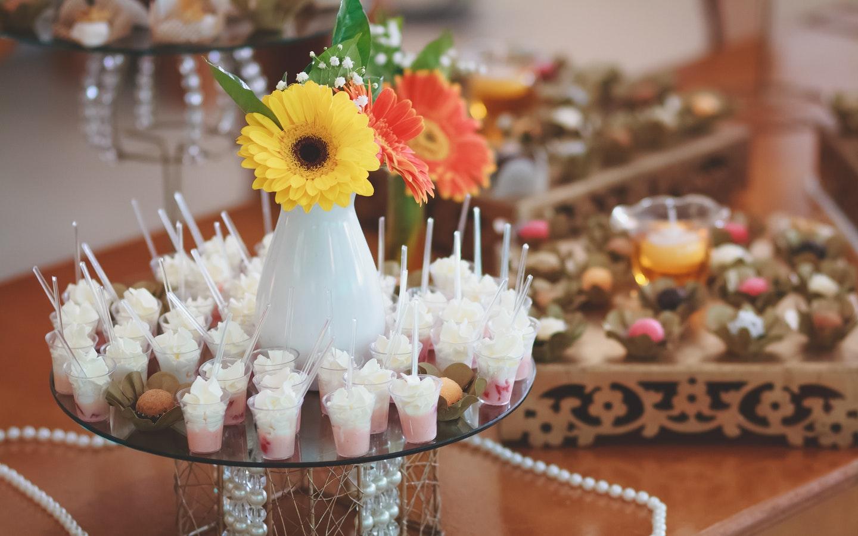 Sugary treats on a table