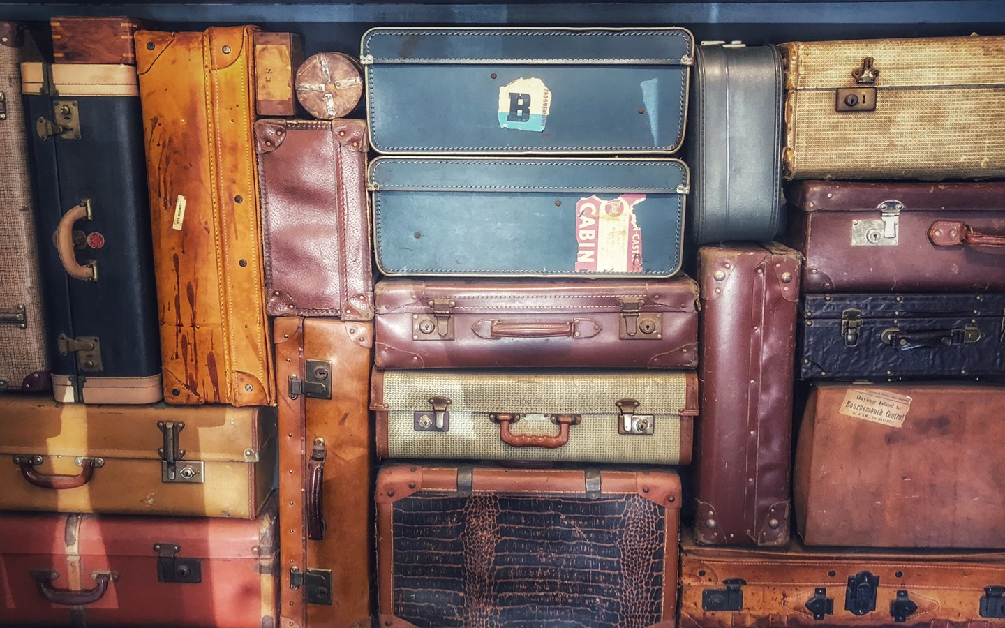 While not overtly one of the essential things for packing, suitcases allow you to carry valuable items