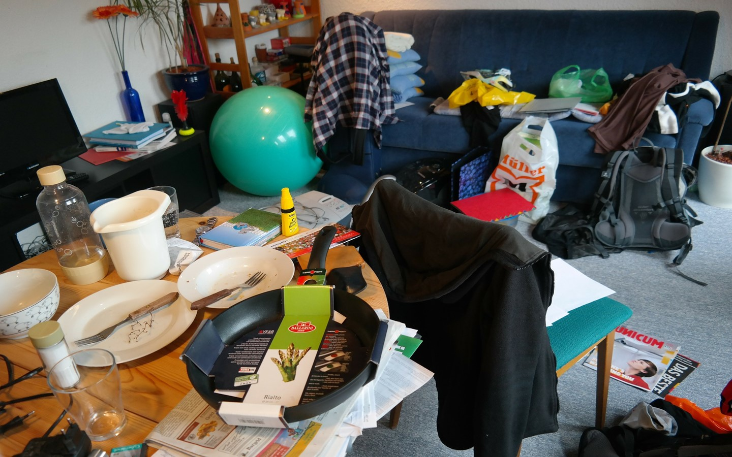 Clutter is a biggest enemy