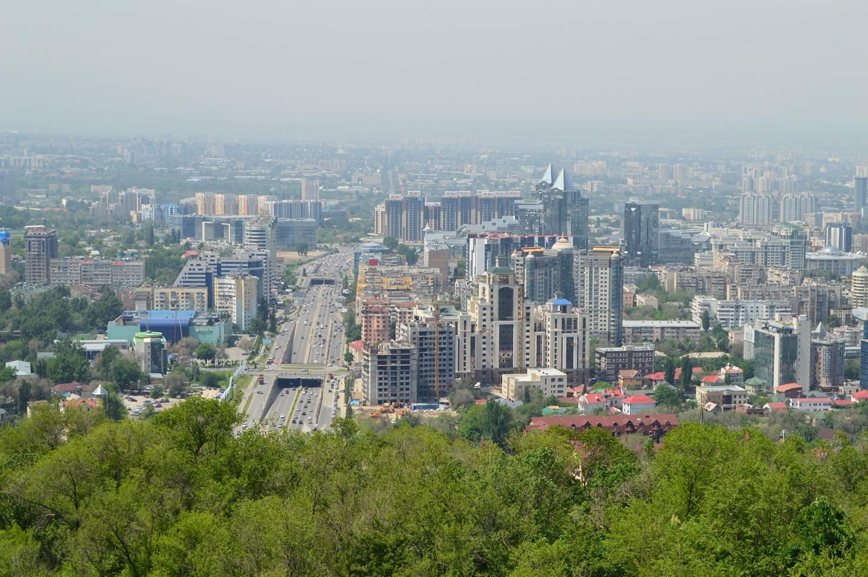 Almaty cityscape