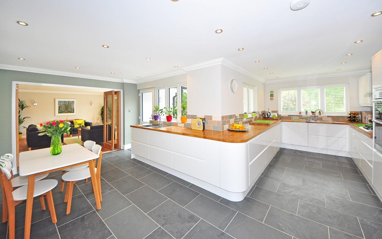 two tone kitchen designs