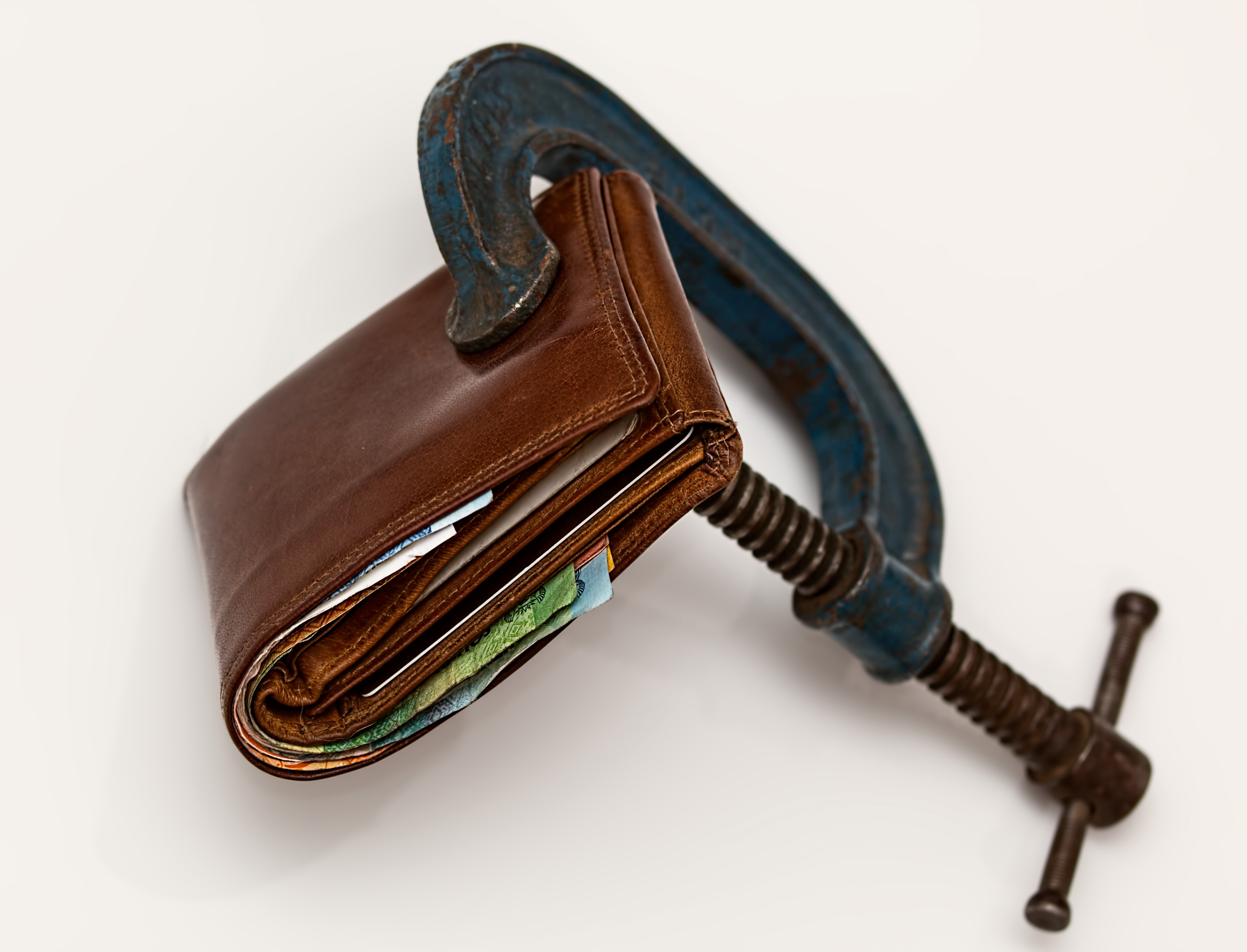 Picture of a Wallet with a lock