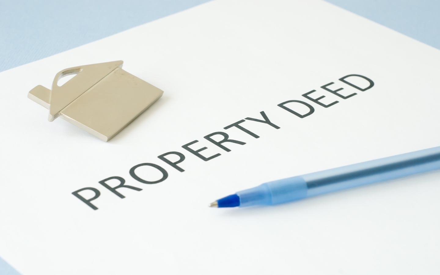 Legal document when buying property