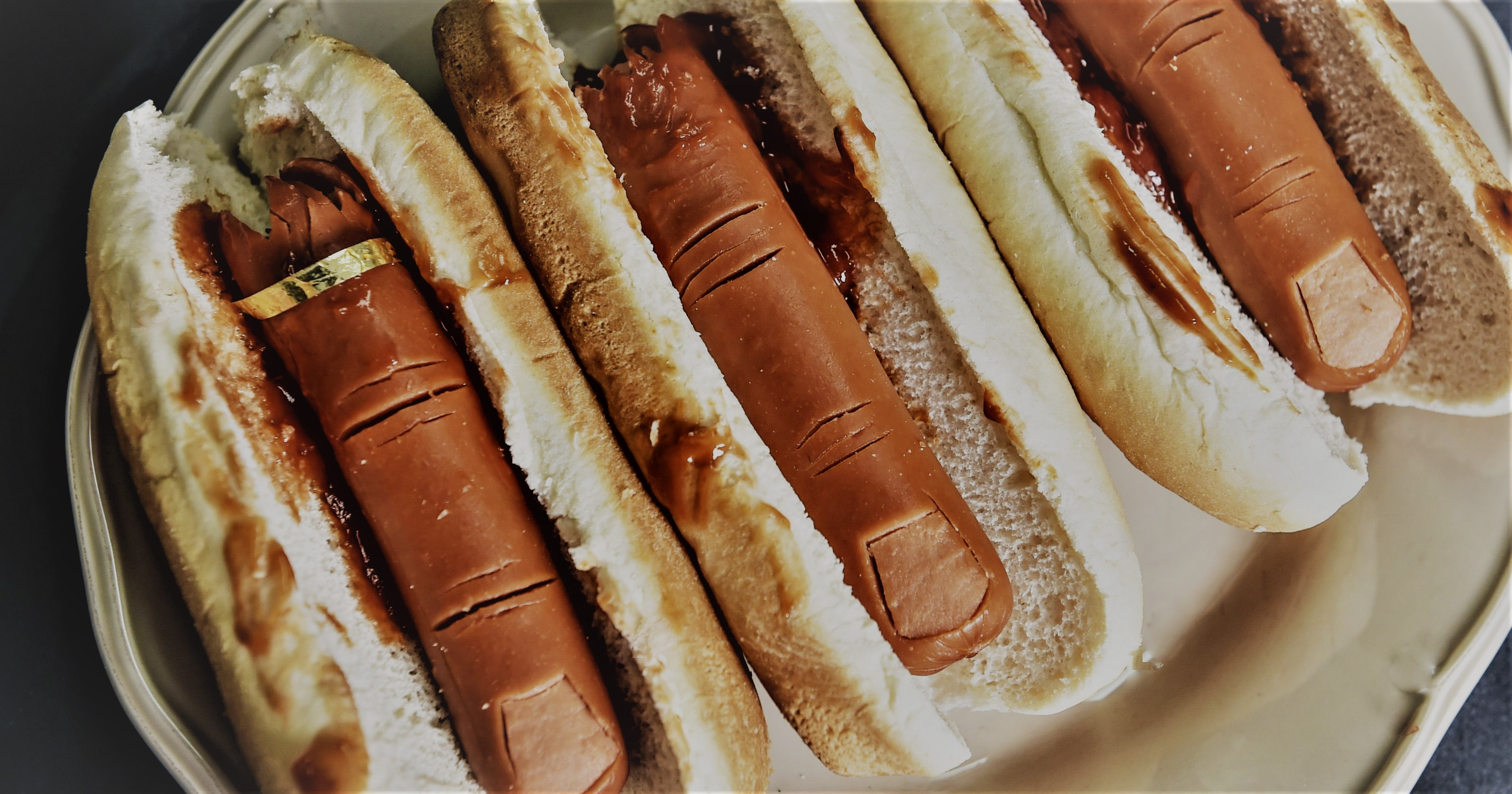 finger hotdogs