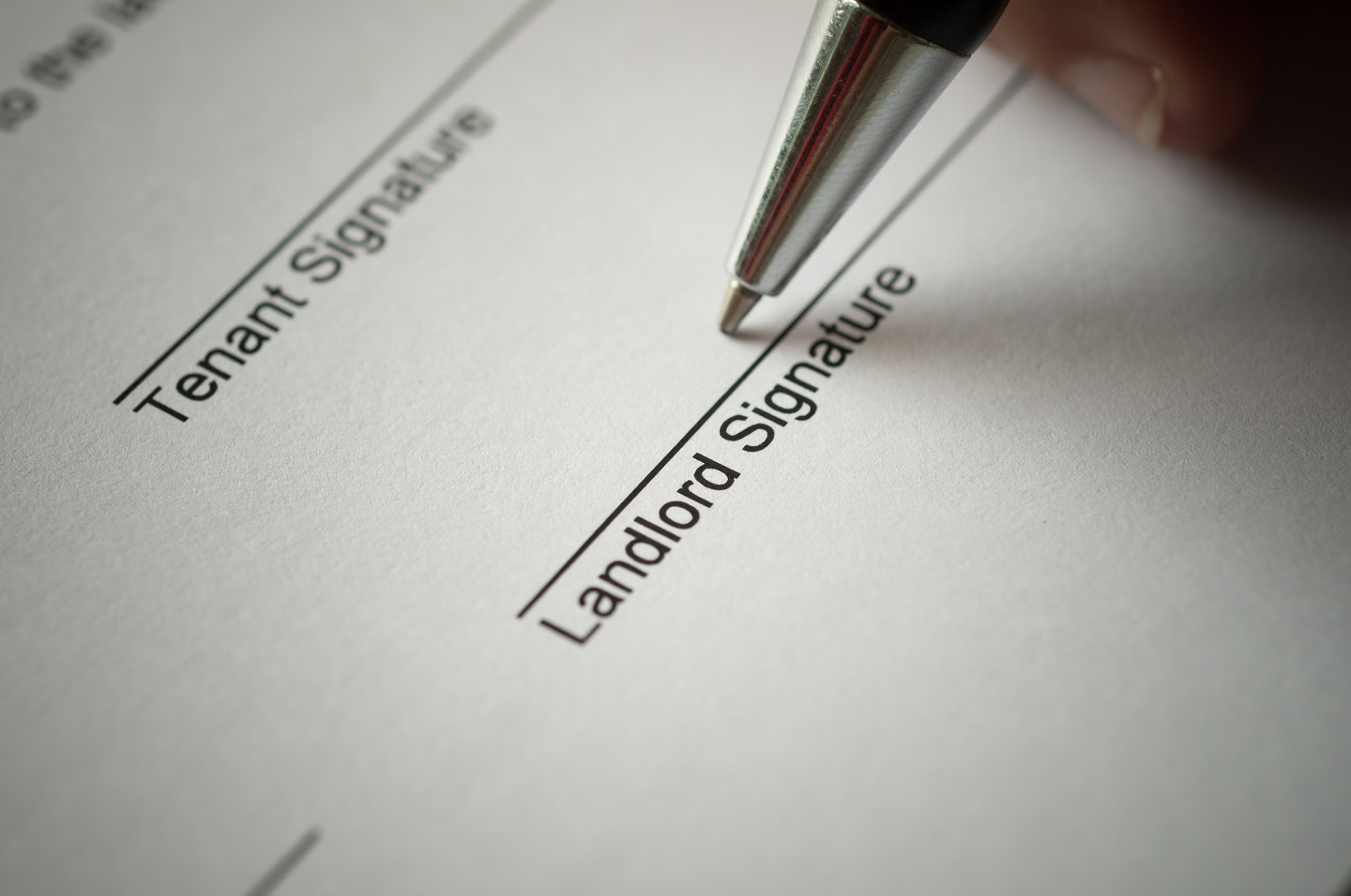 Don't shy away from preparing your questions to ask before signing a lease