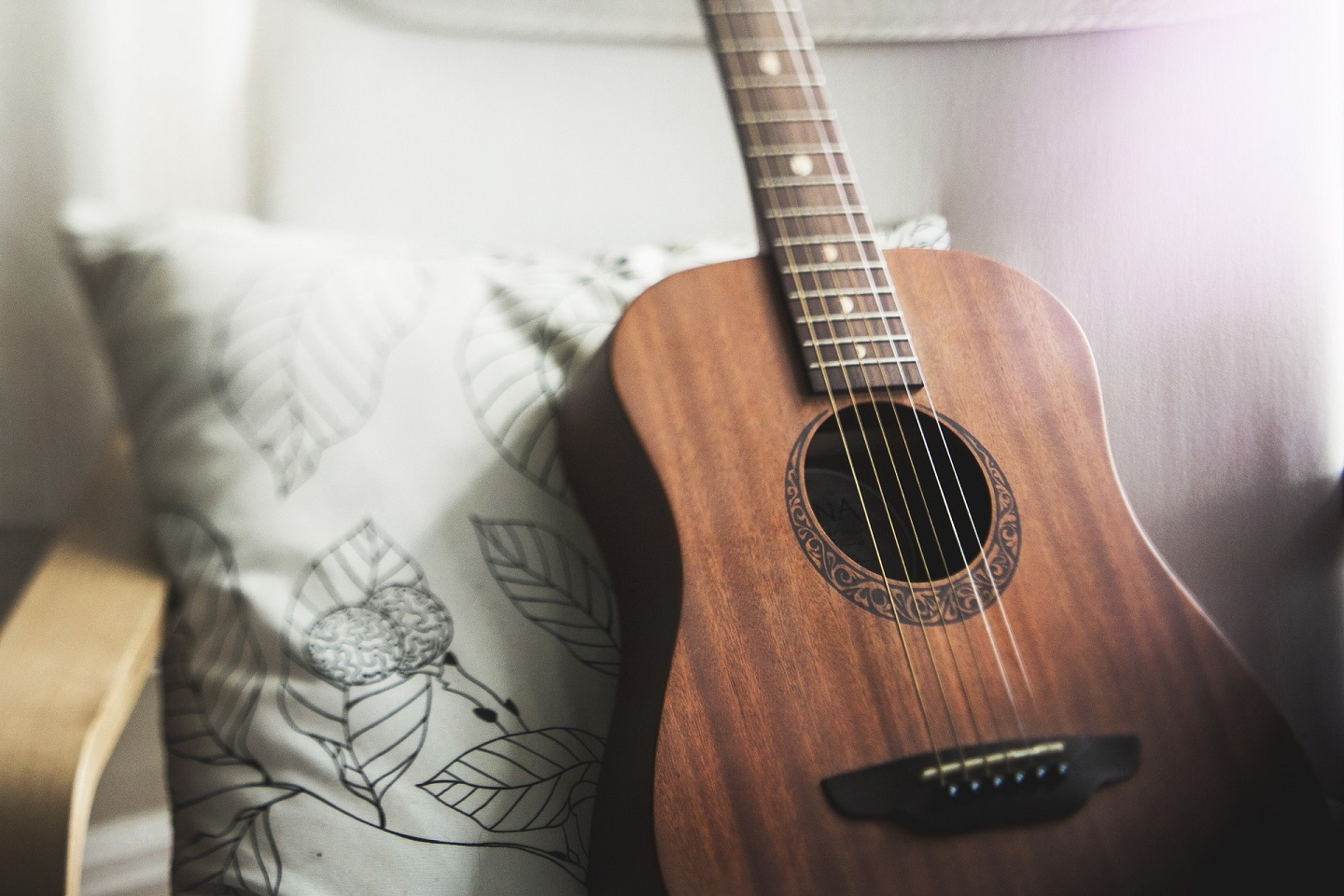 short breaks playing guitar increases home office productivity