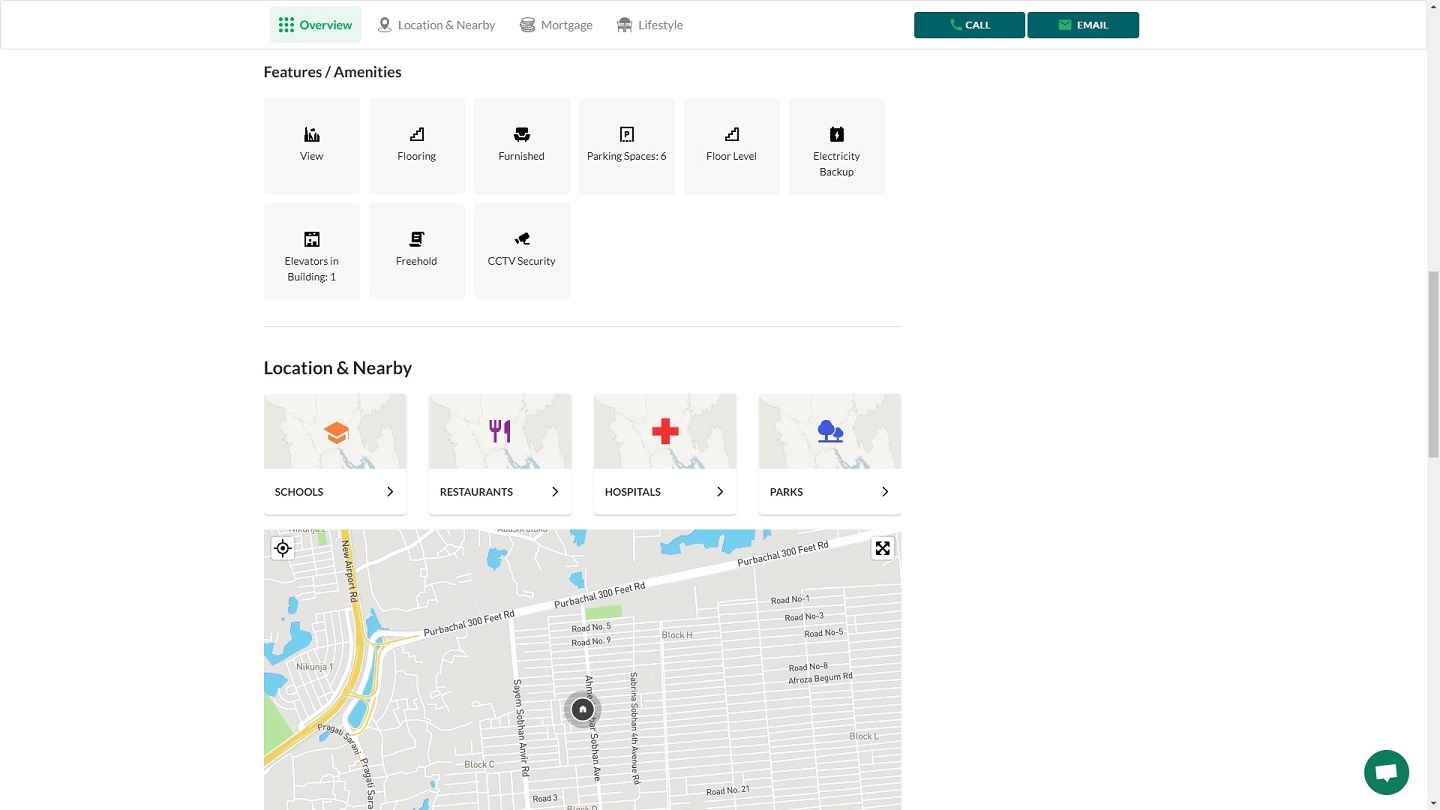 Map-based search