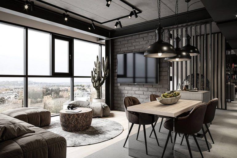 All You Need To Know About Industrial Interior Design - Bproperty