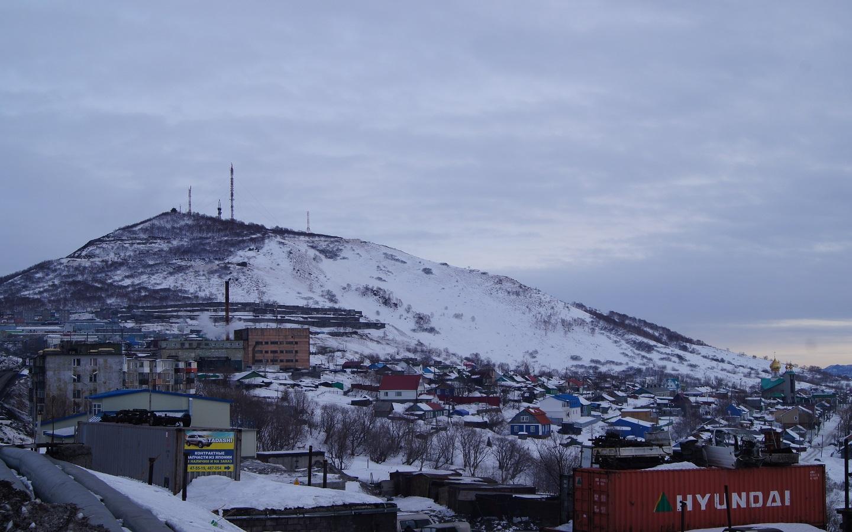 Landscape of Petropavlovsk-Kamchatsky