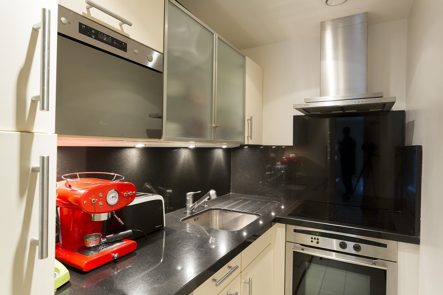 You will be surprised how much kitchen space you will be able to save with the right appliances