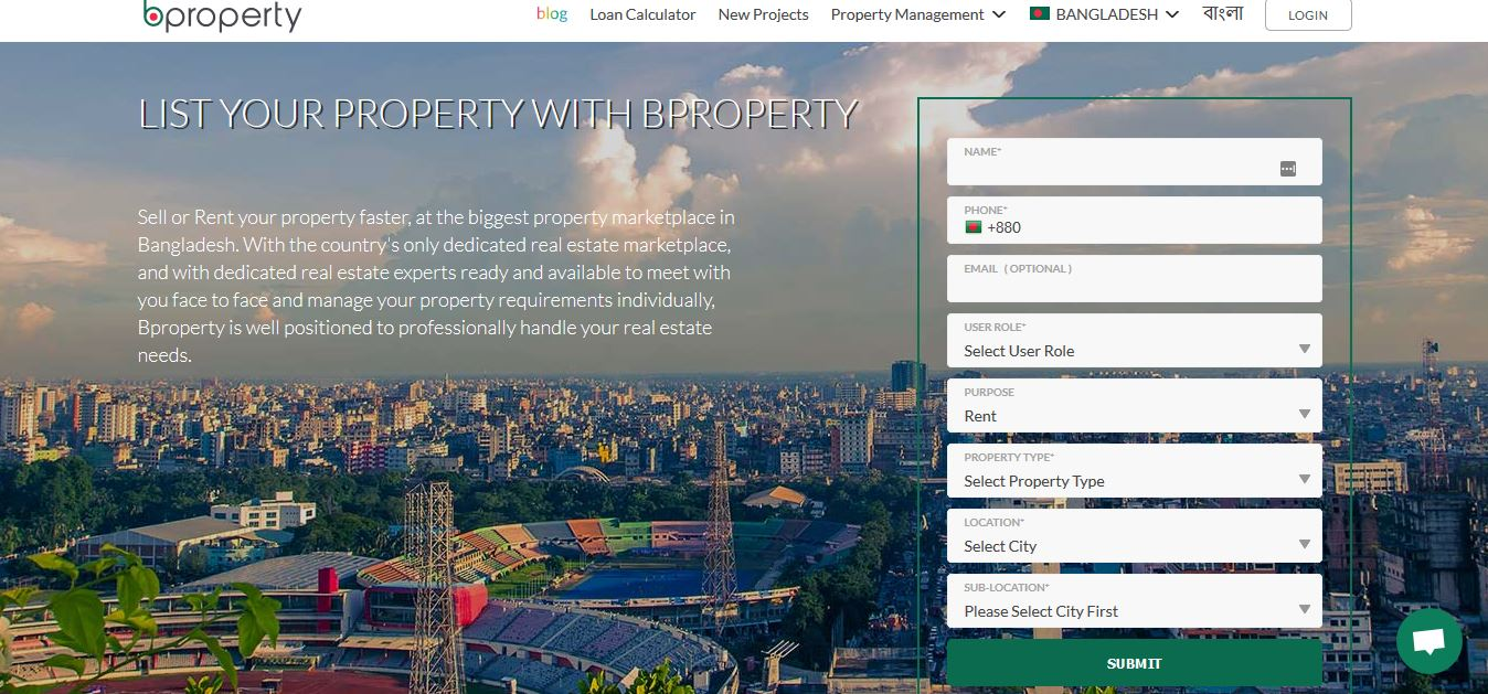 List your property - bproperty