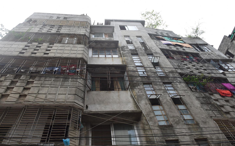 Maghbazar building exterior