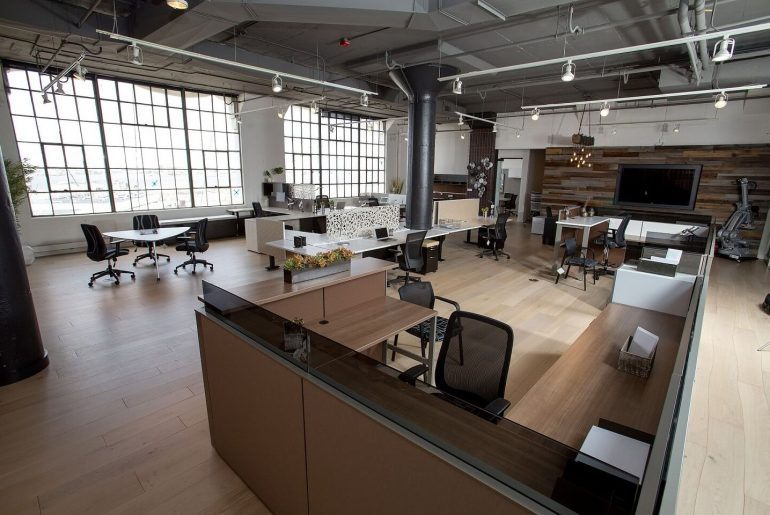 working space in a commercial property