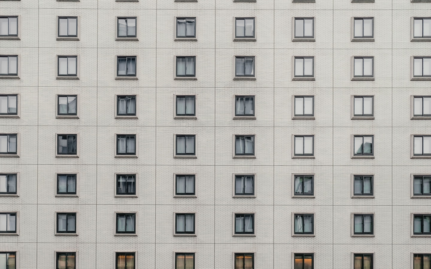 building with many windows