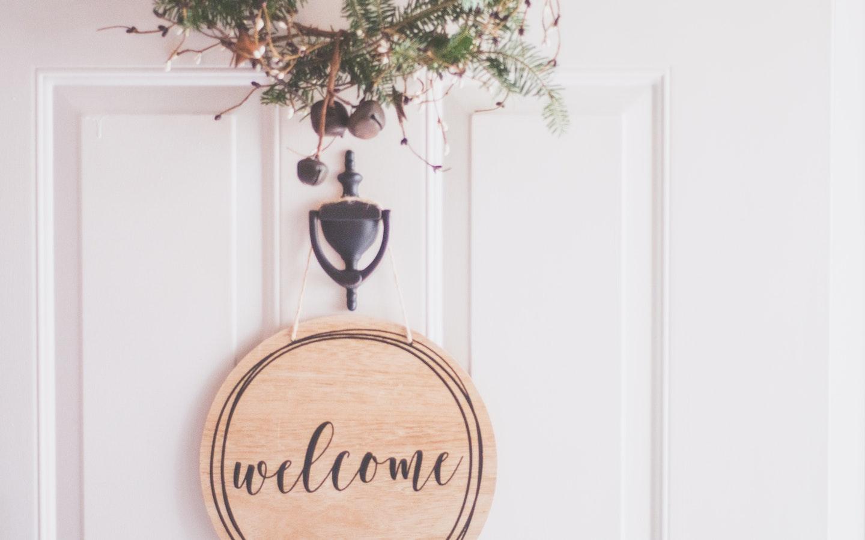 Welcome Nameplate